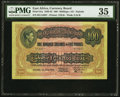 World Currency, East Africa East African Currency Board 100 Shillings = £5 1.7.1941 Pick 31a PMG Choice Very Fine 35.. ...