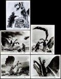 """Movie Posters:Science Fiction, Ghidrah, the Three-Headed Monster (Toho, 1964). Fine/Very Fine. Photos (9) (8"""" X 10""""). Science Fiction.. ... (Total: 9 Items)"""