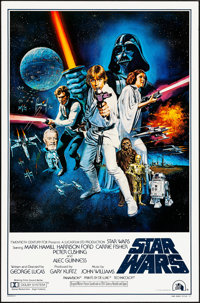 "Star Wars (20th Century Fox, 1977). Rolled, Very Fine. One Sheet (27"" X 41"") Style C, Tom Chantrell Artwork. S..."