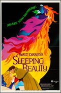 "Movie Posters:Animation, Sleeping Beauty (Buena Vista, R-1970). Flat Folded, Very Fine+. One Sheets (2) (27"" X 41"") Styles A & B. Animation.. ... (Total: 2 Items)"