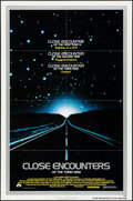 """Movie Posters:Science Fiction, Close Encounters of the Third Kind (Columbia, 1977). Folded, Very Fine-. One Sheet (27"""" X 41""""). Science Fiction.. ..."""