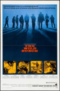 "Movie Posters:Western, The Wild Bunch (Warner Brothers, 1969). Folded, Very Fine. One Sheet (27"" X 41""). Western.. ..."