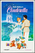 """Movie Posters:Animation, Cinderella & Other Lot (Buena Vista, R-1981). Flat Folded, Very Fine. One Sheets (2) (27"""" X 41""""). Animation.. ... (Total: 2 Items)"""