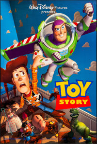 """Toy Story & Other Lot (Buena Vista, 1995). Rolled, Very Fine. One Sheets (2) (27"""" X 40"""") DS Advance. Anima..."""