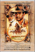 """Movie Posters:Action, Indiana Jones and the Last Crusade (Paramount, 1989). Rolled, VeryFine-. Bus Shelter (47"""" X 70"""") DS Advance. Drew Struzan A..."""