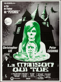 """The House that Dripped Blood (Cinerama Releasing, 1974). Folded, Very Fine. French Grande (47"""" X 63""""). Horror..."""