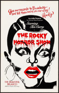 """Movie Posters:Rock and Roll, The Rocky Horror Picture Show (20th Century Fox, 1975). Theater Window Card (14"""" X 22""""). Rock and Roll.. ..."""