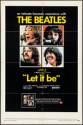 """Movie Posters:Rock and Roll, Let It Be (United Artists, 1970). Folded, Fine/Very Fine. One Sheet(27"""" X 41""""). Rock and Roll.. ..."""