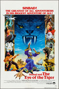 """Movie Posters:Fantasy, Sinbad and the Eye of the Tiger (Columbia, 1977). Folded, VeryFine. One Sheet (27"""" X 41""""). Birney Lettick Artwork. Fantasy...."""