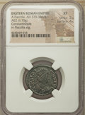 Ancients:Ancient Lots , Ancients: ANCIENT LOTS. Roman Imperial. AD 379-395. Lot of two (2)AE. NGC Choice VF-XF.... (Total: 2 coins)