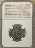 Ancients:Roman Imperial, Ancients: Constantius II, as Augustus (AD 337-361). BIcentenionalis (24mm, 6.08 gm, 6h). NGC MS 4/5 - 5/5....