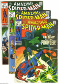 Modern Age (1980-Present):Superhero, The Amazing Spider-Man #78-90 Group (Marvel, 1969-70) Condition: Average VG. #88 has tape on the spine. Approximate Overstre... (Total: 13 Comic Books Item)