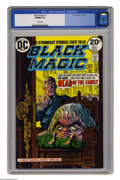 Bronze Age (1970-1979):Horror, Black Magic #1 (DC, 1973) CGC VF/NM 9.0 White pages. Simon &Kirby reprints. Overstreet 2005 VF/NM 9.0 value = $24; NM- 9.2 ...