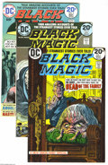 Bronze Age (1970-1979):Horror, Black Magic #1-9 Group (DC, 0) Condition: Average VF/NM. Nine-issuelot includes #1 (FN/VF), 2, 3, 4, 5, 6, 7, 8, and 9. Eac... (Total:9 Comic Books Item)