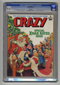 "Magazines:Humor, Crazy Magazine #16 (Marvel, 1976) CGC NM+ 9.6 White pages. ""GoodTimes"" TV spoof. Will Eisner's astrology guide. Christmas c..."