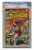 Bronze Age (1970-1979):Miscellaneous, Creatures on the Loose #27 (Marvel, 1974) CGC NM/MT 9.8 Whitepages. Featuring Thongor. Story adapted in part from Lin Carte...