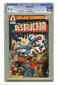 Destructor #1 (Atlas, 1975) CGC NM+ 9.6 Off-white to white pages. Origin and first appearance of the Destructor. Steve D...