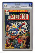 Destructor #1 (Atlas, 1975) CGC NM 9.4 Off-white to white pages. Archie Goodwin cover. Steve Ditko and Wally Wood art. L...