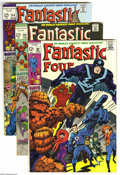 Silver Age (1956-1969):Superhero, Fantastic Four Group (Marvel, 1969-70) Condition: Average VG. This group contains issues 82 through 85 and 87 through 100. I... (Total: 18 Comic Books Item)