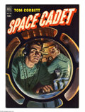 Golden Age (1938-1955):Science Fiction, Four Color #421 Tom Corbett Space Cadet (Dell, 1952) Condition: FN+6.5. Painted cover. Alden McWilliams art. Overstreet 200...