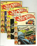 Bronze Age (1970-1979):Miscellaneous, Hot Wheels #1-6 Group (DC, 1970-71) Condition: Average FN+. This isthe full run of the series, 1, 2, 3 (Neal Adams cover), ... (Total:5 Comic Books Item)