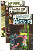 Bronze Age (1970-1979):Horror, House of Mystery Group (DC, 1969-73) Condition: Average FN+. Youcan't beat a lineup of cover artists that includes Neal Ada...(Total: 8 Comic Books Item)