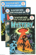 Bronze Age (1970-1979):Horror, House of Mystery Group (DC, 1975-79) Condition: VF+. Included hereare #230, 232, 233, 234, 235, 236 (Bernie Wrightson cover...(Total: 13 Comic Books Item)