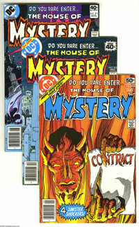 House of Mystery Group (DC, 1978-82) Condition: Average VF/NM. Some great covers by Mike Kaluta and Joe Kubert are among...