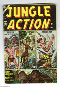 Golden Age (1938-1955):Adventure, Jungle Action #1 (Atlas, 1954) Condition: VG. Joe Maneely cover. Maneely and Al Hartley art. Overstreet 2005 VG 4.0 value = ...