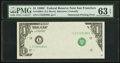 Error Notes:Obstruction Errors, Fr. 1906-L $1 1969C Federal Reserve Note. PMG Choice Uncirculated63 EPQ.. ...