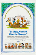 "Movie Posters:Animation, A Boy Named Charlie Brown (National General, 1969). Folded, Very Fine-. One Sheet (27"" X 41""). Charles Schulz Artwork. Anima..."