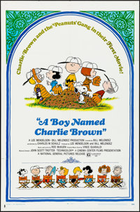 "A Boy Named Charlie Brown (National General, 1969). Folded, Very Fine-. One Sheet (27"" X 41""). Charles Schulz..."