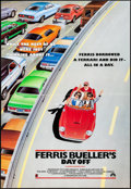 """Movie Posters:Comedy, Ferris Bueller's Day Off (Paramount, 1986). Folded, Very Fine. International One Sheet (27"""" X 39.5""""). A. Perkins Artwork. Co..."""