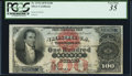 Large Size, Fr. 337b $100 1878 Silver Certificate PCGS Very Fine 35.. ...