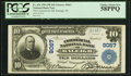 Raleigh, NC - $10 1902 Plain Back Fr. 626 The Commercial NB Ch. # 9067 PCGS Choice About New 58PPQ