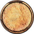 Patterns, (1853) 1C Uniface Cent, Judd-151b, Pollock-179, Low R.7, -- Surface Plated -- PCGS Genuine. Unc Detail. ...