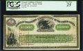 Fr. UNL $10,000 Temporary Loan of 1862 St. Louis Office of the Assistant Treasurer of the United States 186_ Hessler X13...