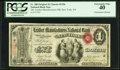 New York, NY - $1 Original Fr. 380 The Leather Manufacturers NB Ch. # 1196 PCGS Extremely Fine 40.<
