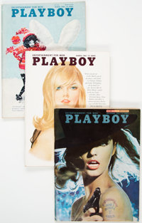Playboy 1965-66 Complete Years Group of 24 (HMH Publishing, 1965-66). Condition: Average FN+