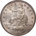 Trade Dollars, 1876-S T$1 Type Two Obverse, Type Two Reverse, MS66 NGC....