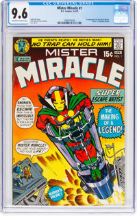 Mister Miracle #1 (DC, 1971) CGC NM+ 9.6 Off-white to white pages