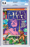 Modern Age (1980-Present):Science Fiction, Star Wars #49 (Marvel, 1981) CGC NM 9.4 White pages....