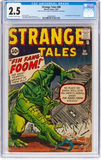 Strange Tales #89 (Marvel, 1961) CGC GD+ 2.5 Off-white to white pages