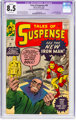 Tales of Suspense #48 Trimmed (Marvel, 1963) CGC VF+ 8.5 Off-white pages