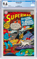 Superman #189 (DC, 1966) CGC NM+ 9.6 White pages
