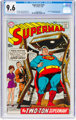 Superman #221 (DC, 1969) CGC NM+ 9.6 Off-white to white pages