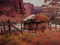 Fine Art - Painting, American, Bruce Cheever (American, b. 1958). The Homestead. Oil onpanel. 9 x 12 inches (22.9 x 30.5 cm). Signed lower right:Br...