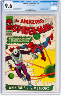 The Amazing Spider-Man #36 (Marvel, 1966) CGC NM+ 9.6 Cream to off-white pages