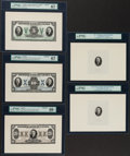 Canadian Currency, Toronto, ON- Imperial Bank of Canada Ch. # 375-20-02/04/06 Denomination and Vignette Proof Set.. ... (Total: 5 notes)