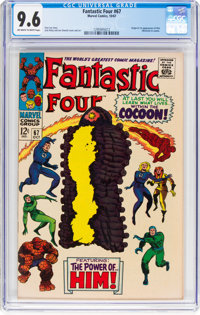 Fantastic Four #67 (Marvel, 1967) CGC NM+ 9.6 Off-white to white pages